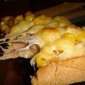 玉米鮪魚起士土司(披薩版)