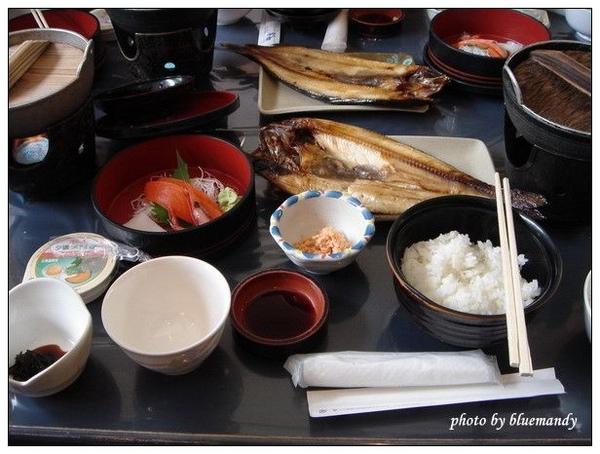 小樽運河,午餐