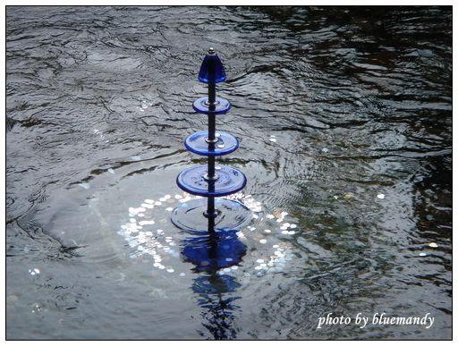 名水公園。許願池