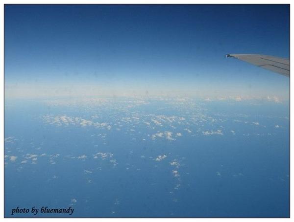 飛機上的景色