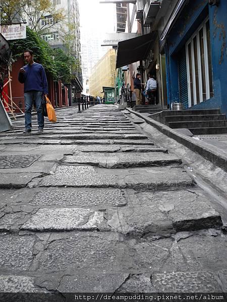香港石板路