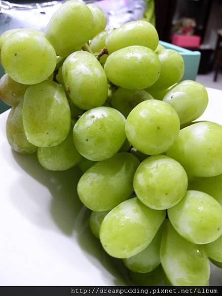維納斯無籽綠葡萄