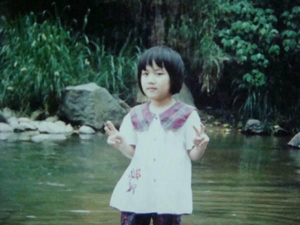 小時候的我就莫名的跩