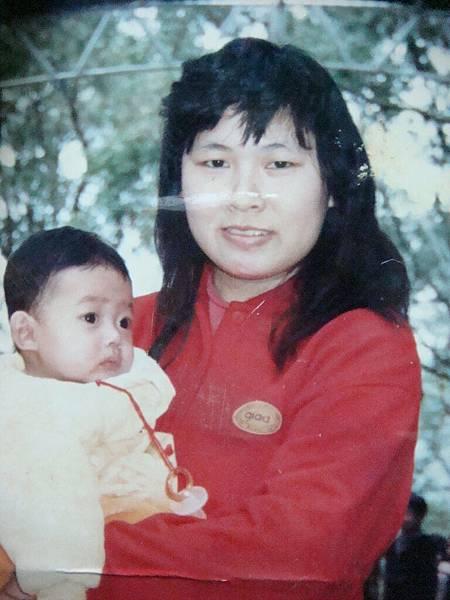 是我和媽媽~~