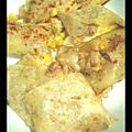鮪魚玉米起司蛋餅