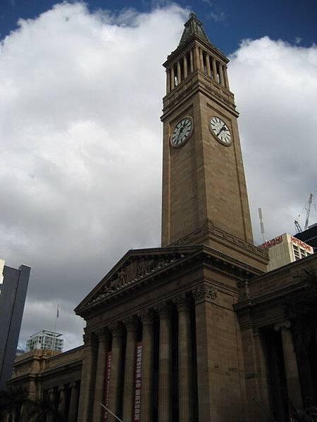 布里斯本市中心的地標--市政府鐘樓