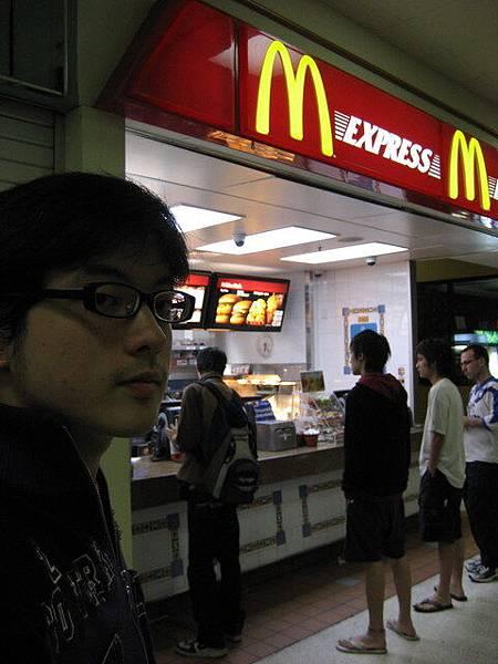 目前不懂怎麼處理飲食,只有麥當勞的價錢OK