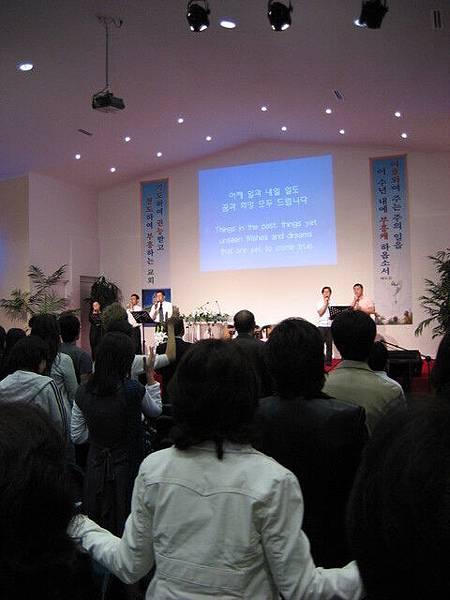 基督教在韓國占有率算很高,此為韓國教會