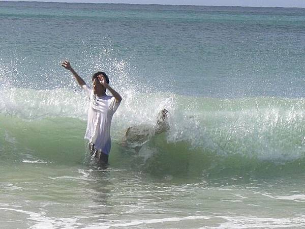 衝啊!下水啦!!