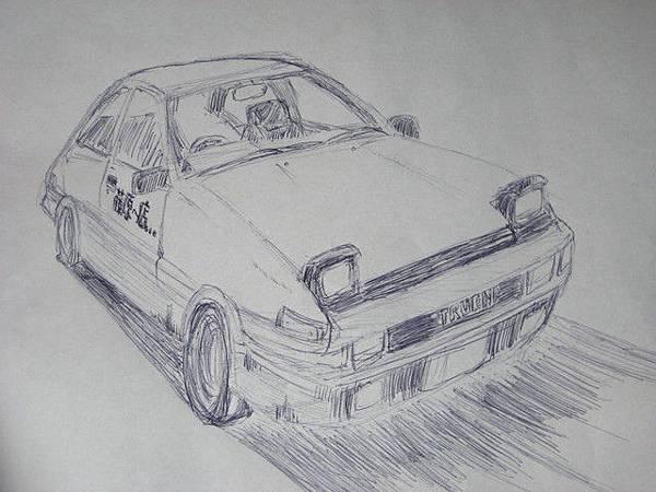 我們的新目標-買車!Chris手繪稿