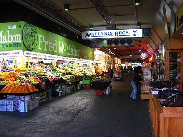 阿德雷德有名的蔬果市集--中央市場
