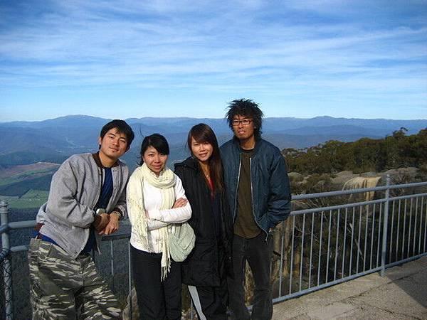 跟我們一起上山的台灣女孩,人都不錯