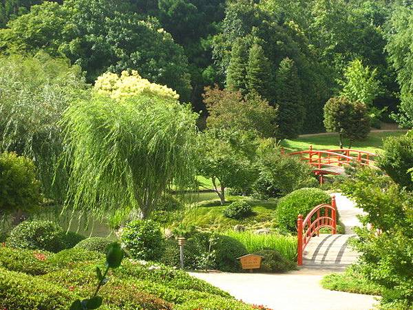 日本公園晃晃,但誰也不知道為什麼這裡要蓋日本公園
