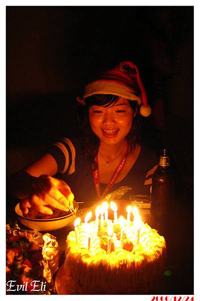 ELI鉅作--插蠟燭的女孩,Mina,蠻有feel的喔