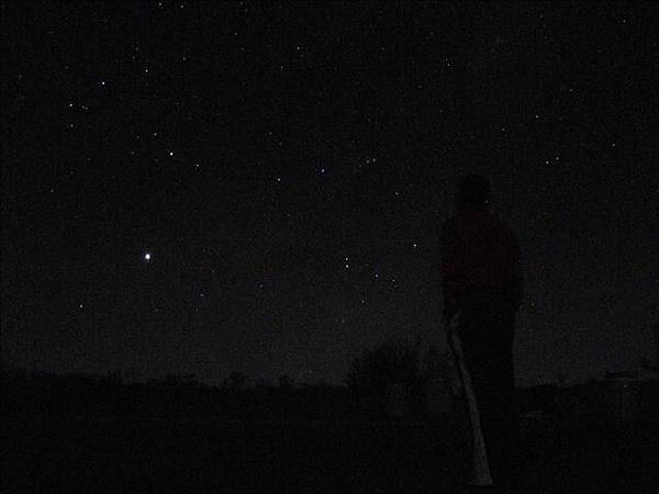 單車之旅最後一晚的星空