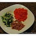小黃瓜火腿紅蘿蔔