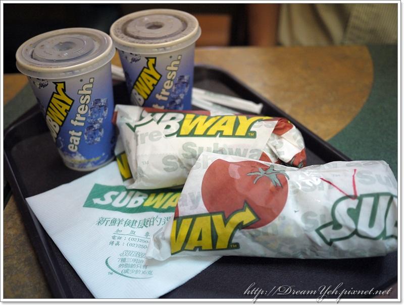 subway龍蝦沙拉堡套餐