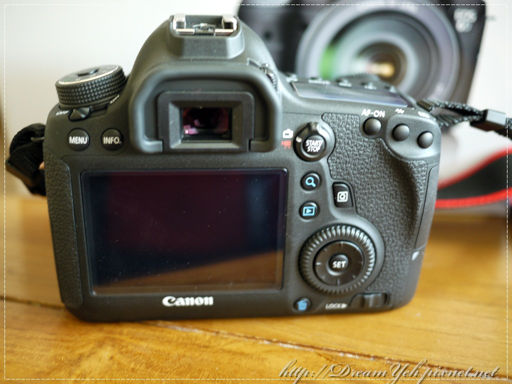Canon 6D LCD
