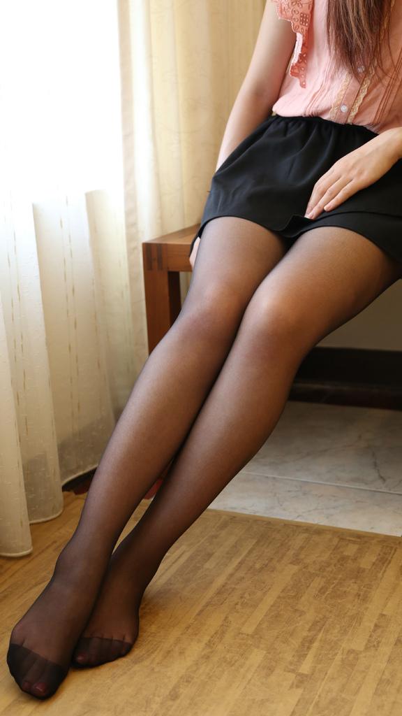 抗uv防曬絲襪-黑色