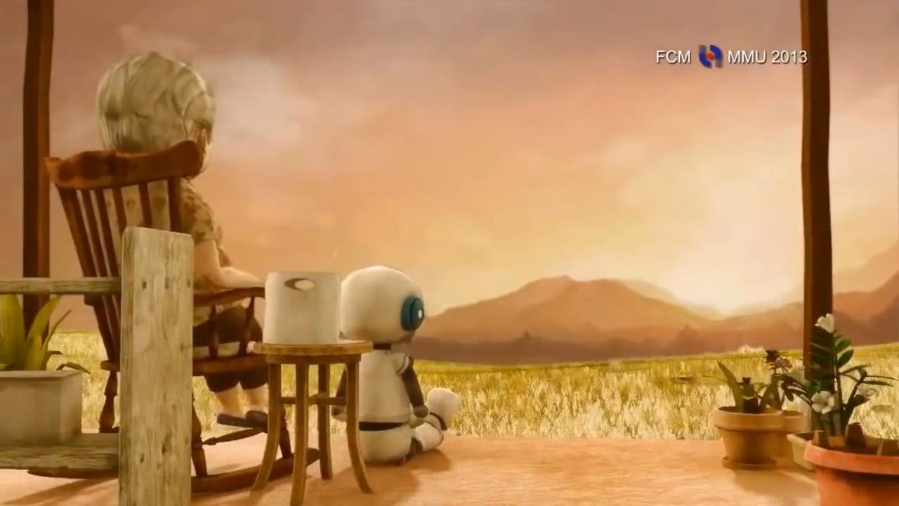 老婆婆與機器人
