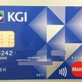 KGI信用卡正面