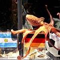 世足賽章魚哥保羅對德西大戰的預測過程