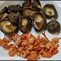 乾香菇和蝦米