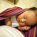 媽媽餵背巾‧沉睡