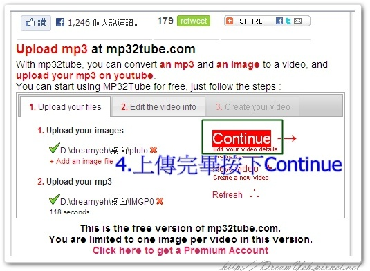 MP3 TO YOUTUBE05