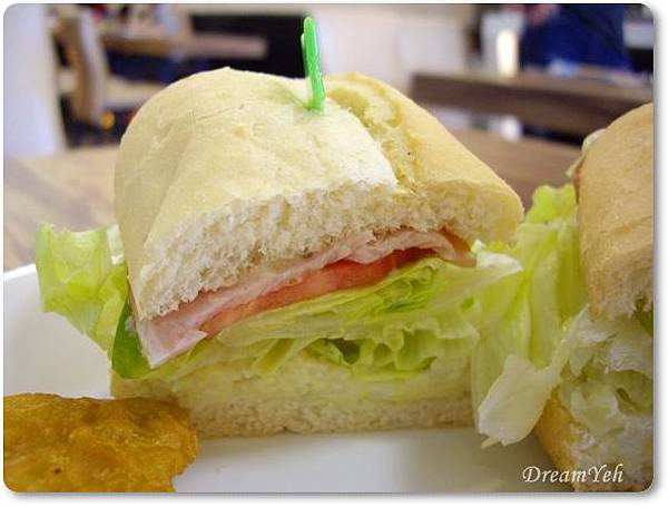 輕食潛艇堡三明治