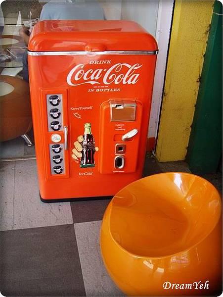 可口可樂復古冰箱