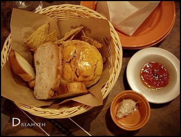 餐前麵包與墨西哥脆餅
