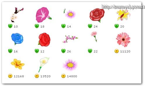 開心農場花卉