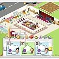 Facebook Restaurant City 點選菜單