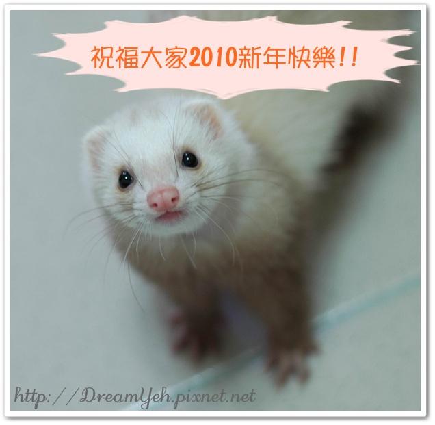 2010香香祝福