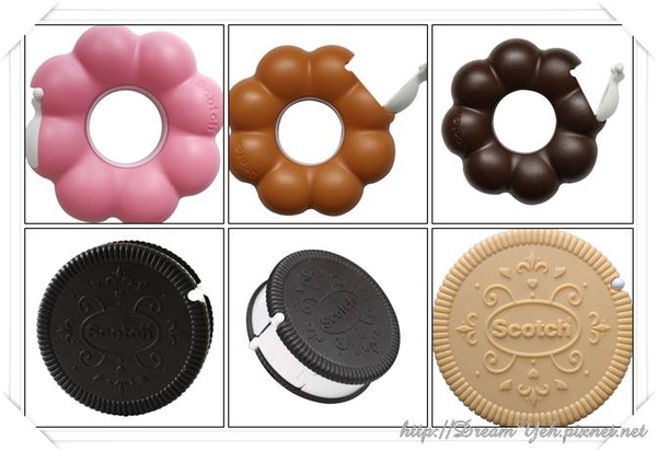餅乾造型以及甜甜圈造型
