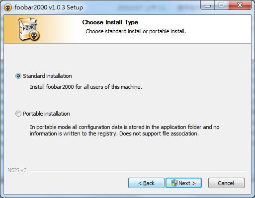 foobar2000 install