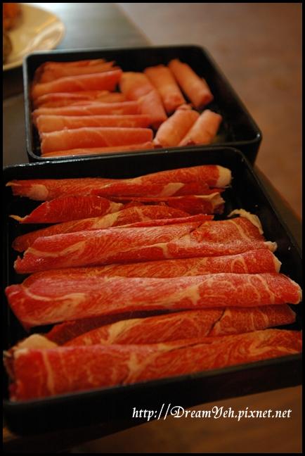 安格斯牛肉和豬肉