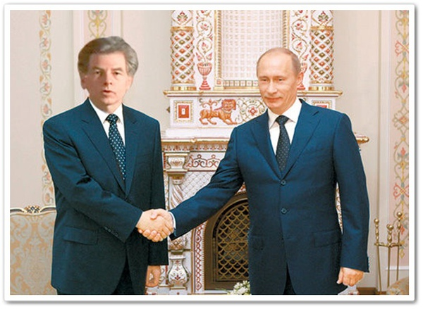 威廉伯爵與俄國總統普京