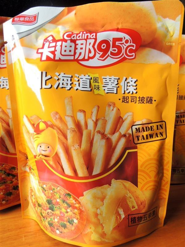 卡廸那 95℃北海道風味薯條-起司披薩004.jpg