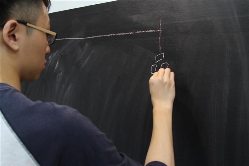 導演寫出了影片流程的最後呈現畫面.JPG