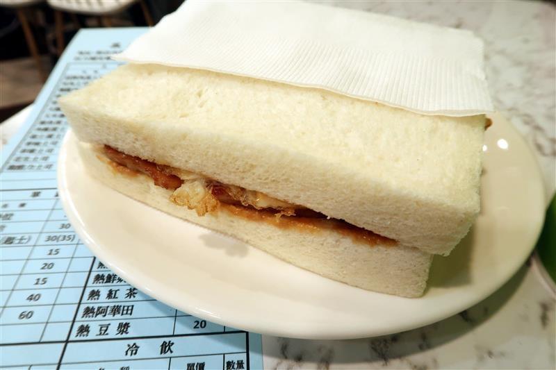 三三早餐 新店 肉蛋土司 008.jpg