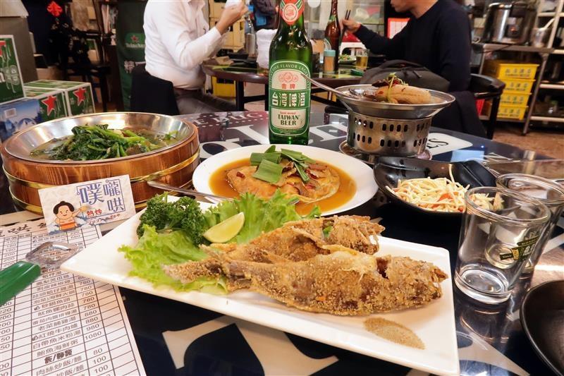 噗嚨哄海鮮熱炒 信義安和海鮮熱炒,烤物024.jpg
