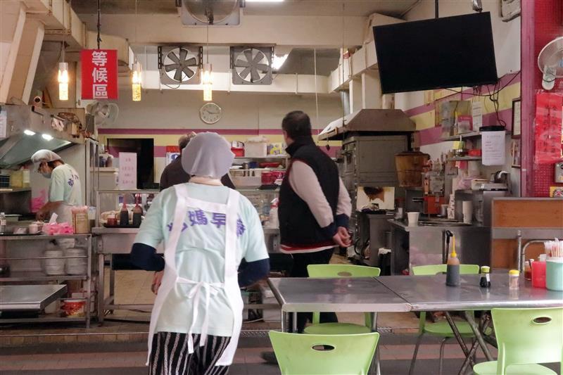 新店早餐 姑媽早餐 發麵餅 025.jpg