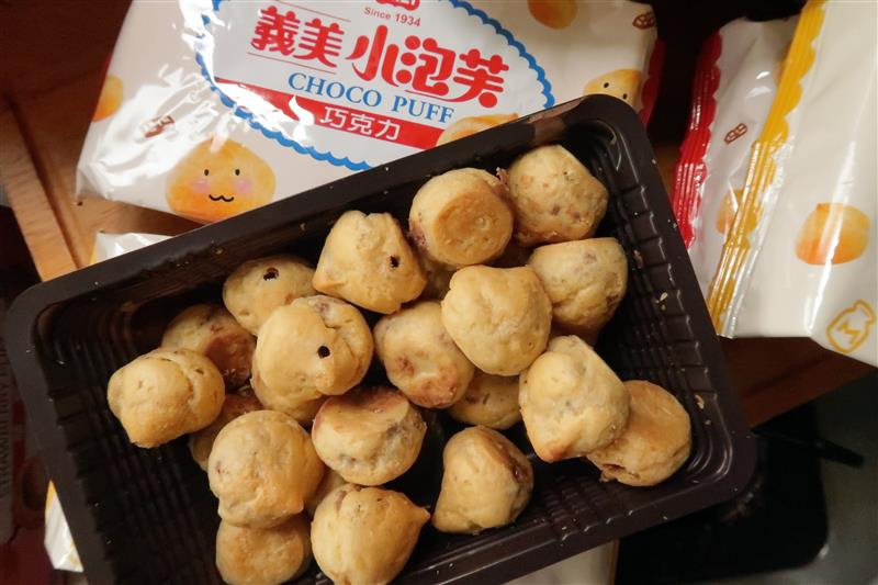 義美小泡芙 口味 量販 便利商店 013.jpg