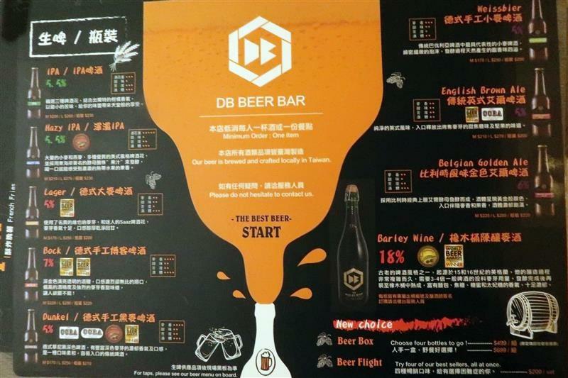 DB Beer Bar Taipei 北車酒吧 聚會聚餐包場006.jpg
