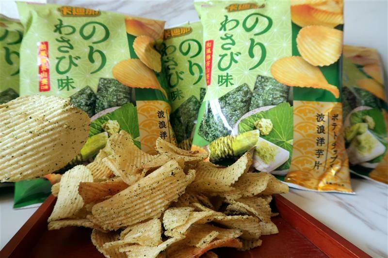 卡迪那 日式和風海苔山葵口味 波浪洋芋片 011.jpg