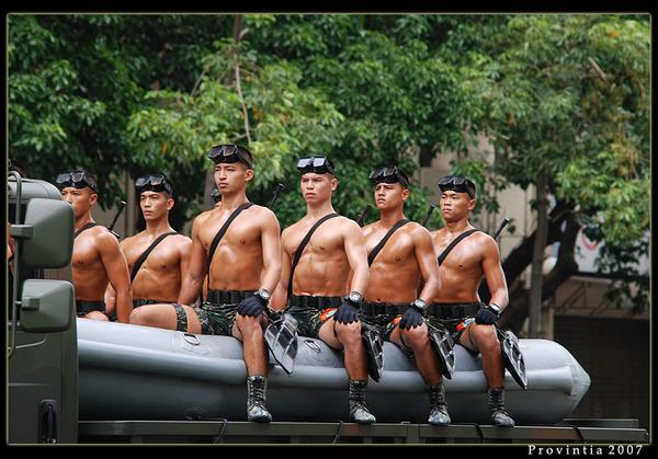 海陸精英,台灣蛙人部隊