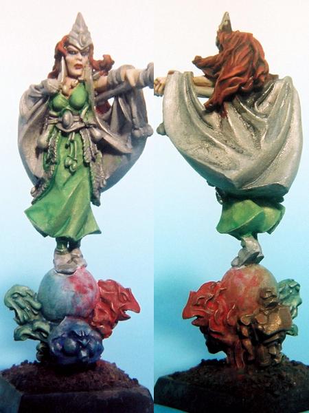 GW High Elf Mage (除了頭髮膚色外都沒完成)