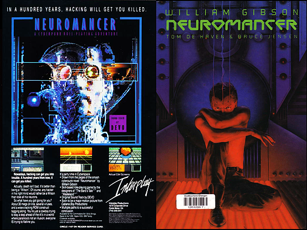 Neuromancer Game_Comic